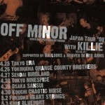 2008/05/05 OFF MINOR JAPAN TOUR 2008 @ 名古屋タイトロープ