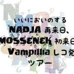 2014/06/21 いいにおいのするNADJA再来日、MOSSENEK初来日、Vampilliaレコ発ツアー @ 名古屋新栄VIO