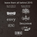 2015/09/22 leave them all behind 2015 (day1) @ 恵比寿LIQUIDROOM